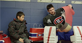 The Air Canada Foundation presents: A boy and 3 gifts.